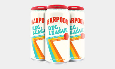 Thirst-Quenching Post-Workout Beers - The Harpoon Rec. League Beer Helps You Hydrate and Recover