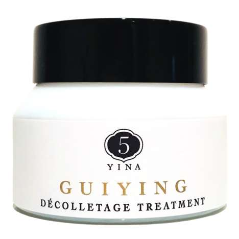 Revitalizing Décolletage Treatments - 5YINA's Nourishing Treatment Promotes Lymphatic Circulation
