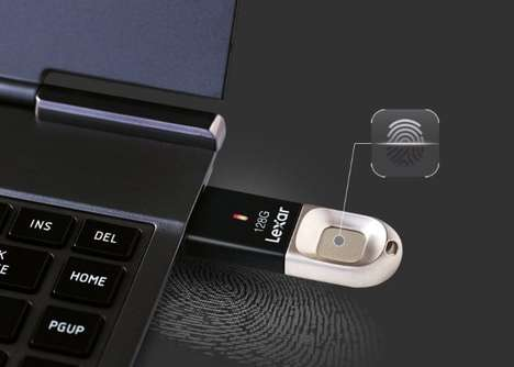 Biometric Security USB Drives