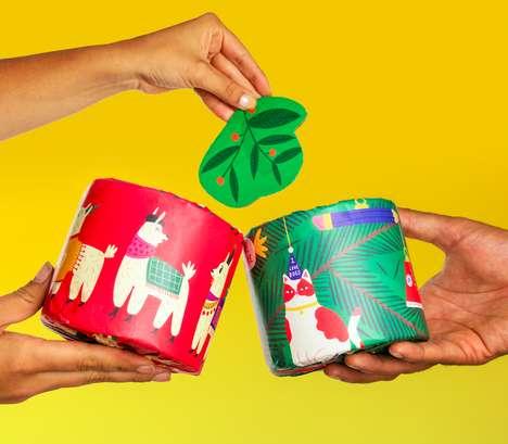 Festive Socially Conscious Toilet Paper