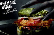 Ghoulishly Green Burgers