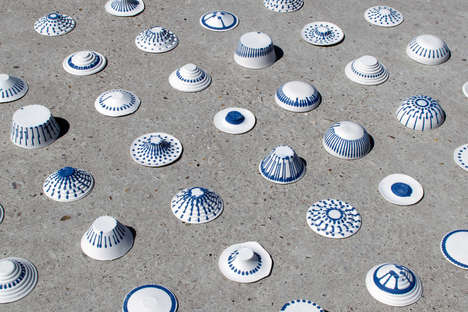 Authentic Machine-Made Ceramics - Studio Joachim-Morineau's Machine Exhibits Mathematical Precision