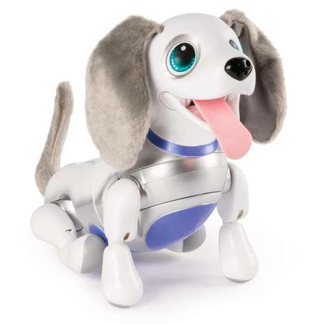 Robotic Puppy Toys - Spin Master's Zoomer Playful Pup Can Perform More Than 20 Tricks