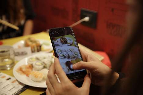 Social Media Restaurant Discounts - This Is Not A Sushi Bar Uses Instagram to Offer Discounts