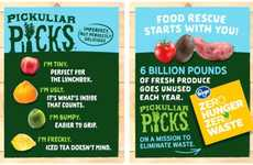 Ugly Produce Programs - Kroger's 'Pickuliar Picks' Brand Encourages Consumers to Buy Wonky Veggies