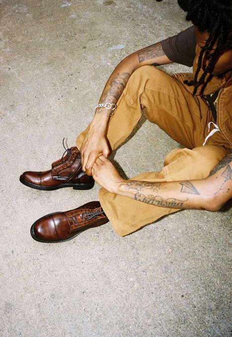 Sophisticated Men's Footwear Collections - Steve Madden's Fall Range is Focused on Urban Versatility