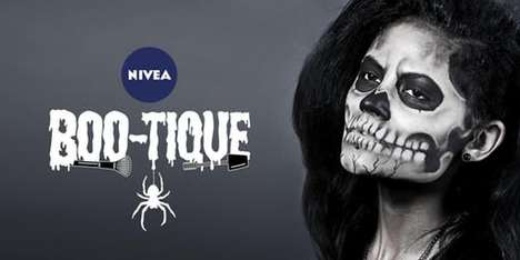 Spooky Skincare Pop-Ups - The Nivea BOO-tique Introduces the MicellAIR Professional Cleansing Range