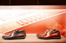 Sleek Automotive Footwear