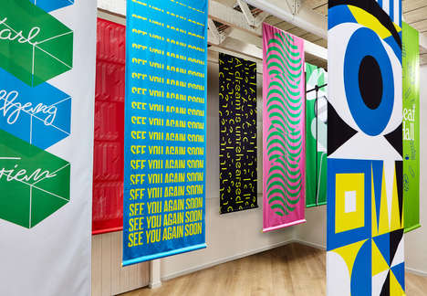 Colorful Design-Driven Music Banners - Design Agency Touch Pays Tributes to Iconic Performances