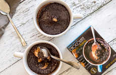 Salted Caramel Mug Cakes - Trader Joe's Chocolate Salted Caramel Mug Mix is Ready in Under 2 Minutes