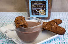Dunkable Hot Cocoa Cookies