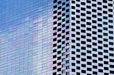 Iridescent Color-Changing Building Facades