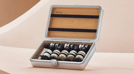 Luxury Travel Grooming Kits - The Köln Travel Kit is Packed with High-Quality Aesop Products
