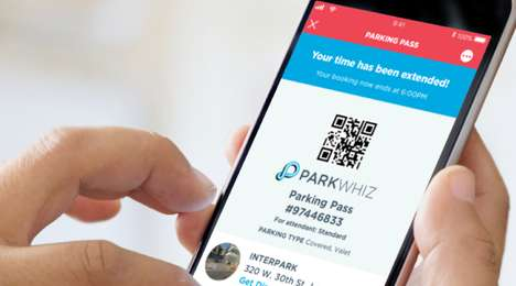 Automated Parking Features - ParkWhiz's Arrive Network Takes Advantage of Sensors for Easy Parking