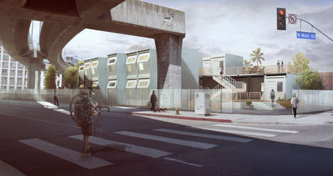 Prefabricated Homeless Housing Plans