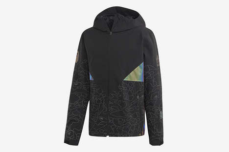 Iridescent Accented Sportswear