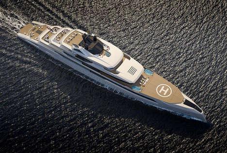 Mythology-Inspired Yachts