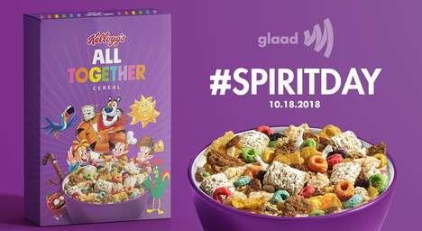 Anti-Bullying LGBTQ Cereals