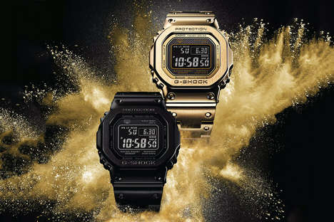 Metal Digital Wristwatches