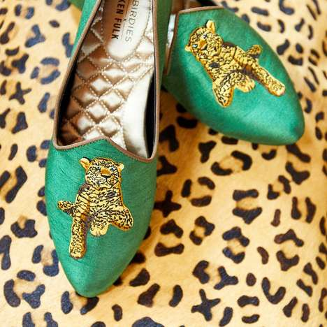Animal-Inspired Luxe Slippers