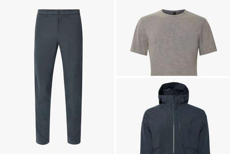 Sporty Collaboration Menswear