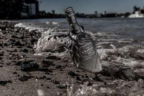 Anti-Plastic Rum Bottles