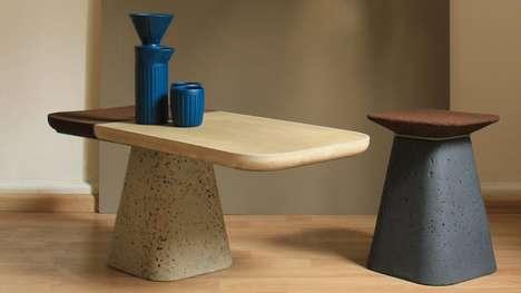 Minimalist Upcycled Coffee Furniture