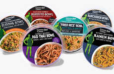 Prepackaged Vegetarian Meal Bowls