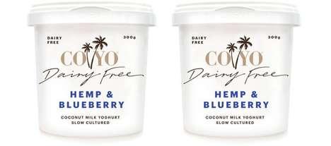 Dairy-Free Hemp-Infused Yogurts