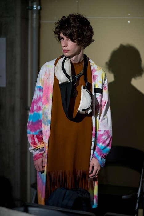 Tie-Dye Vintage Menswear Shows