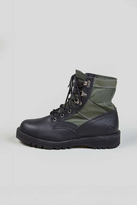 Heavy Duty Militaristic Boots