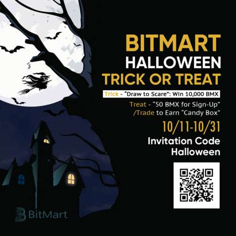 Interactive Cryptocurrency Halloween Campaigns