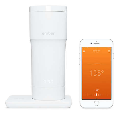 Caffeine-Tracking Travel Mugs