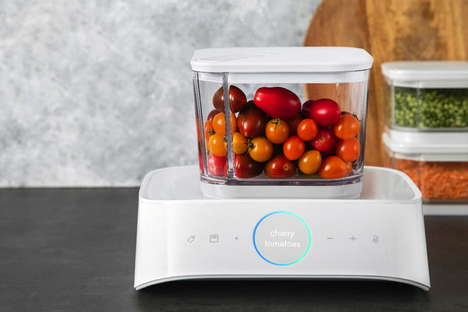 Vacuum-Sealing Smart Containers - The Silo Storage System Ensures Food Isn't Rotten or Wasted