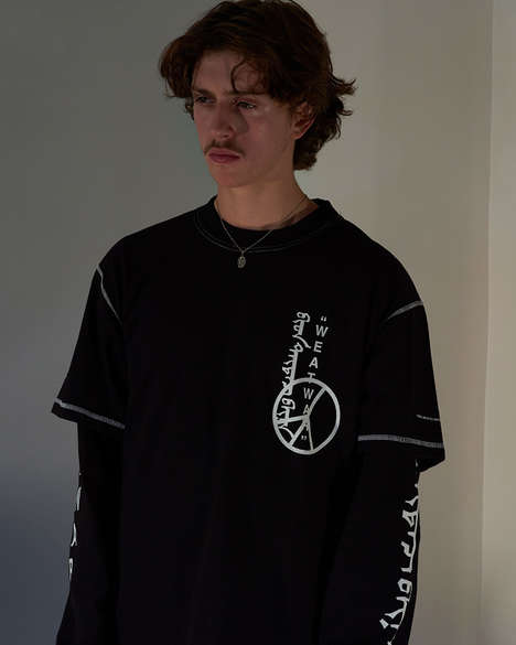 Contradicting Textural Streetwear