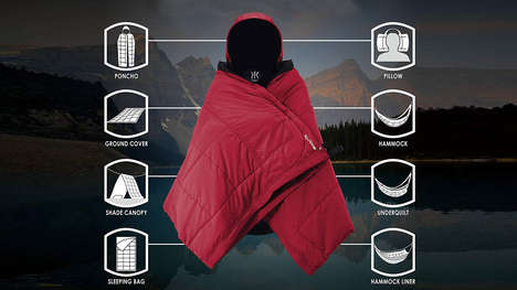 Insulated Multi-Use Camping Blankets