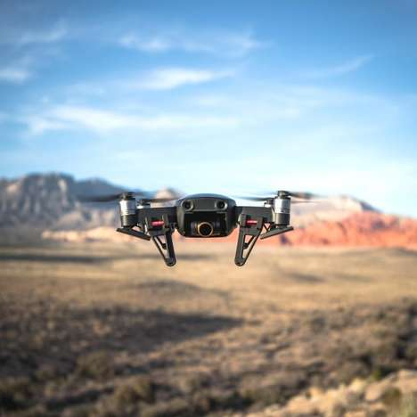 Sensor-Packed Photography Drones