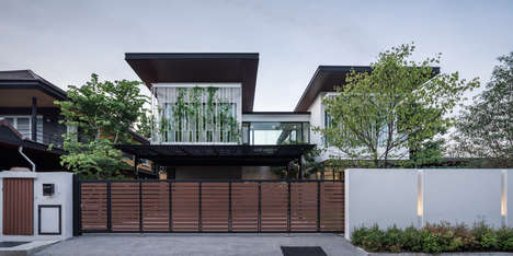 Stacked Modern Rectangular Homes