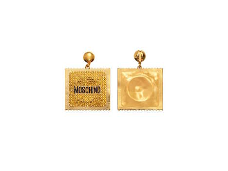 Condom-Inspired High Fashion Lines - Moschino and H&M Take on Condom Fashion for in Latest Collab
