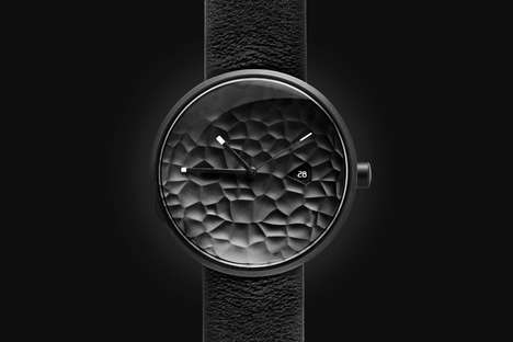 Scalloped Science Fiction Timepieces