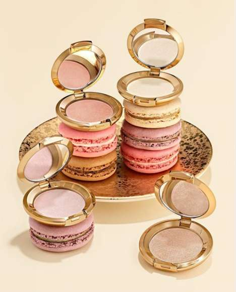 Mini Macaroon-Inspired Highlighters - BECCA Cosmetics' Glow Kit is Inspired by the Delicate Dessert