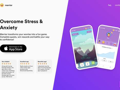 Stress-Reducing Gaming Apps