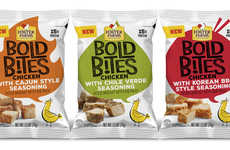 Seasoned Diced Chicken Snacks - The Foster Farms Bold Bites Come in Five Savory Flavors