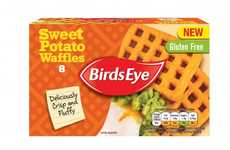 Autumnal Yam Waffles - Birds Eye's Sweet Potato Waffles are a Health-Conscious Breakfast Treat