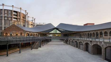 Industrial Warehouse-Style Shopping Centers