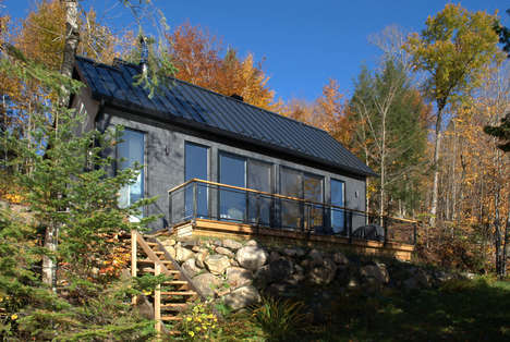 Compact Secluded Forest Cabins
