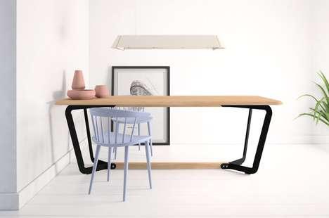 Dual-Purpose Living Space Desks