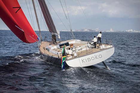 Lightweight Luxury Yachts