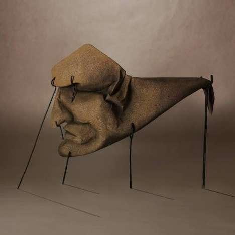 Eerily Surreal Origami Sculptures