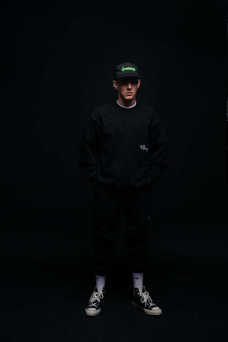Glow-in-the-Dark Streetwear Series